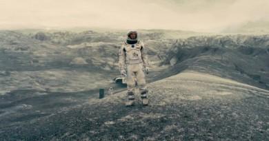 Stillbilde fra Interstellar