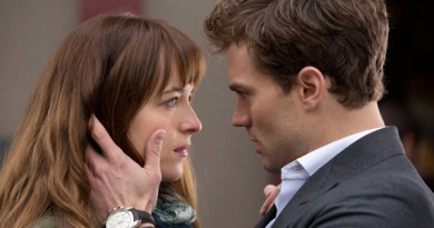 Dakota Johnson og Jamie Dornan i Fifty Shades of Grey