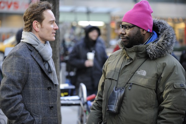 Steve-Mcqueen-and-Michael-Fassbender-on-the-set-of-Shame