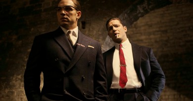 Undated handout photo issued by Studiocanal of Tom Hardy in his latest roles as Ronnie (left) and Reggie Kray in the film, Legend. PRESS ASSOCIATION Photo. Issue date: Thursday June 12, 2014.  The film also stars Emily Browning, David Thewlis and Christopher Eccleston and is written and directed by Brian Helgeland. Principal Photography for the film commenced this week. Photo credit should read:  Greg Williams/Studiocanal/PA Wire  NOTE TO EDITORS: This handout photo may only be used in for editorial reporting purposes for the contemporaneous illustration of events, things or the people in the image or facts mentioned in the caption. Reuse of the picture may require further permission from the copyright holder.