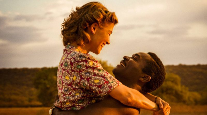 Rosamund Pike og David Oyelowo i A United Kingdom