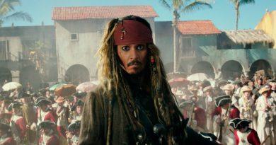 Johnny Depp i Pirates of the Caribbean- Salazar's Revenge