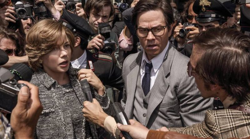 Michelle Williams og Mark Wahlberg i All the Money in the World
