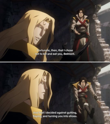 Castlevania Season 3 Quotes - Page 3 of 3 - The RamenSwag